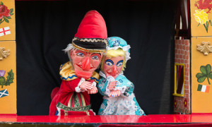 Punch and Judy are Back on Southwold Pier
